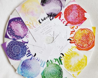 Chakra Mandala Cards