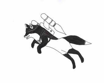 Foxfire Print