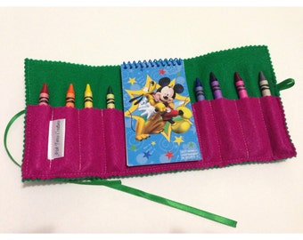 Travel Coloring Pouch