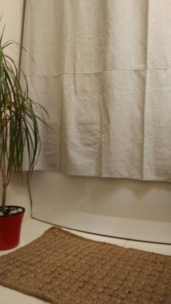 Organic Hemp Shower Curtains Bath