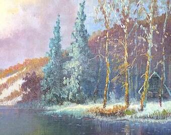 "Frank Wallis ""Untitled- Landscape"""