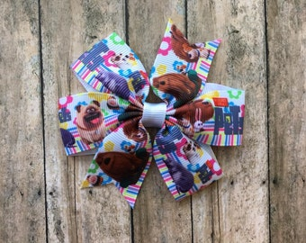 Secret Life of Pets Hairbow