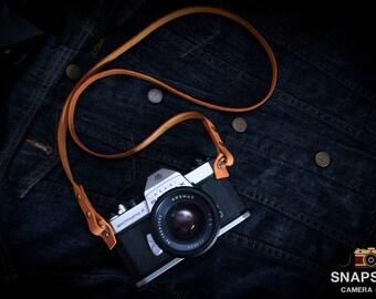 Sale ,Leather Camera Strap ,Camera strap ,Flim camera ,mirrorless  camera ,Gift for him ,Men ,Vintage Strap, Handmade , Camera accessories.