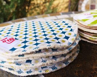 Organic Nursing Pads - 4 pair (8 pads)