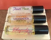 Retro Roll-on Perfumes