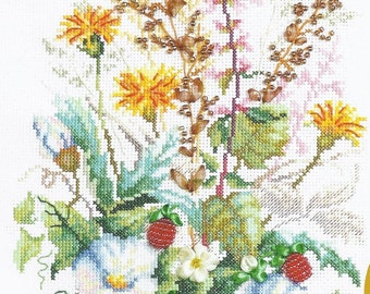 Cross Stitch Kit Solar meadow art.81-02