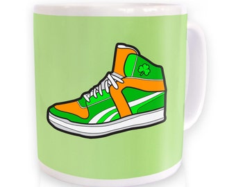 Irish High Top Trainer mug