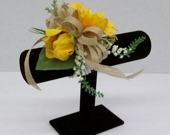 Sunflower Wrist Corsage