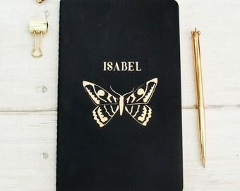 Luxury Butterfly Personalised Moleskine Notebook