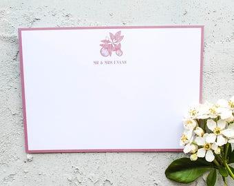 Orange Blossom Mr & Mrs Wedding Stationery Set