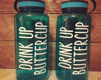 DRINK UP BUTTERCUP 34 oz. Water Bottle
