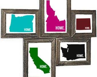 Customizable State Home - Digital Download - State Pride Printable