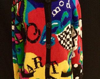 Adrienne Vittadini Vintage 80's Sweater-FLASH SALE!