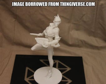 Tracer Statue from Overwatch [3D Printed]
