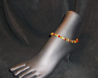 Multi-Colored Anklet