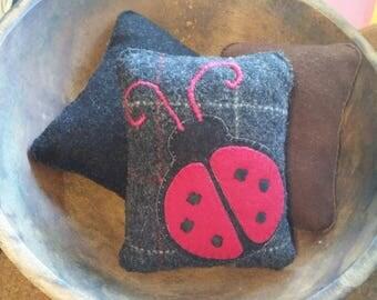 Ladybug bowl filler
