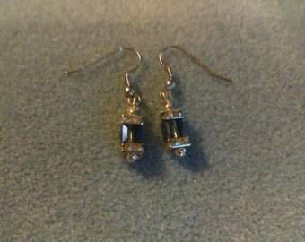 No. 1014 Swarovski and Czech Crystal Earrings