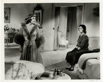 Vintage 1964 Lingerie Clad Vamp Bette Davis Boudoir Photograph from Dead Ringer