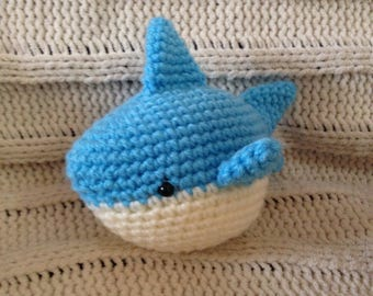 Chum The Tiny Shark Crochet Amigurmui