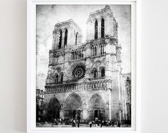 Notre Dame Wall Art notre dame wall art | etsy