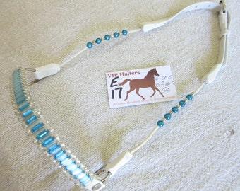 E17 - Miniature Horse /Mini Pony Beaded/Cable Show Halter