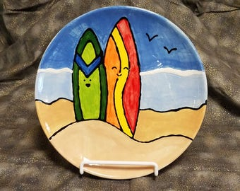 Surfing Plate