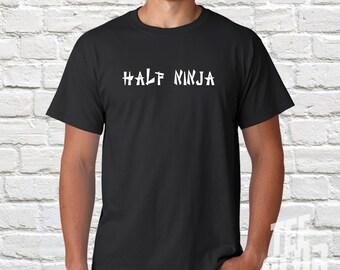 moiti ninja tshirt chemise pour homme drle ninjago ninja tee guerrier lee bruce humour chemise expdition dans le monde