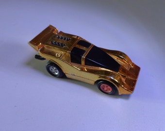 Mego Speed Burners pull back and go vintage 1977 toy car made in Hong Kong