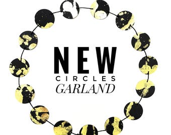 Medium Circles Garland