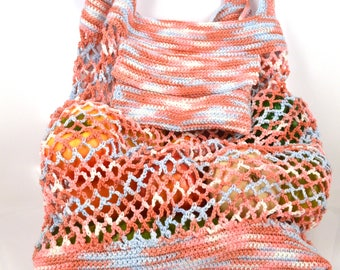 A string bag, avoska, shopping bag, farmers market bag