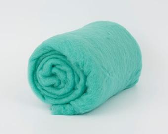 Lagoon B135, 1.77oz (50gr) 22mic Carded Merino Wool For Felting And Needle Felting.