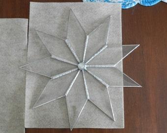 Beveled Glass Star