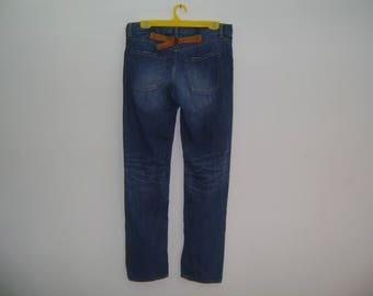 Vintage Journal Standart Buckle Back  Denim Jeans Pant Made in Japan Size 36 Kapital Orslow Sugar Cane John Bull Eternal Japan