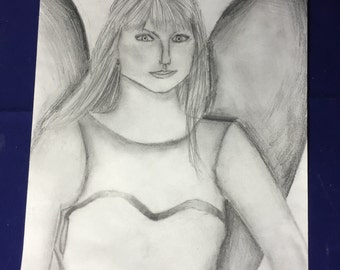 Taylor pixie-graphite on paper