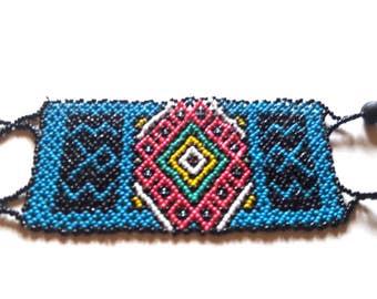 Shipibo beaded bracelet