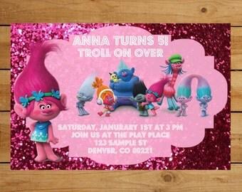 Rainbow Party Invite as adorable invitations design