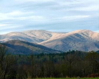 Morning Mountain Splendor // Cades Cove // Smoky Mountains