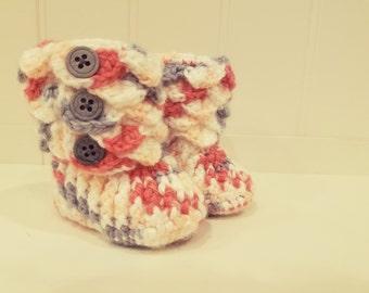 Croc Stitch Bootie
