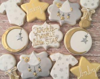 Twinkle Twinkle cookies (1dozen)
