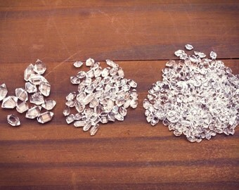 Raw Herkimer Diamonds, Raw, Herkimer Diamonds, Large Herkimer, Tiny Herkimer, Gemstones