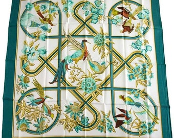 Hermes Vintage scarf, square, scarf, the Caribbean