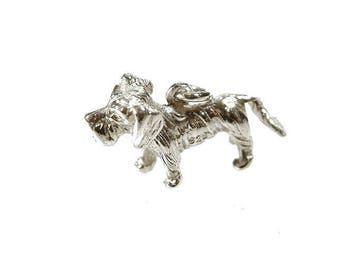 Pendant Dachshund silver 925 Rauhaar teckel dog dogs
