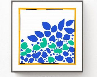 Matisse Lierre Print, Matisse Print, Matisse Poster, Matisse Sketches, Minimalist Print, Contemporary Art Print, Matisse Ivy Print