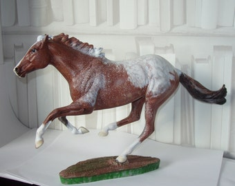 Breyer Traditional scale model horse OOAK Snowflake Chestnut Appaloosa