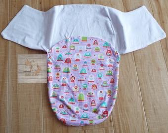 Baby Girl Swaddler/ Flower fabric swaddler/ Baby shower Gift/ New mom