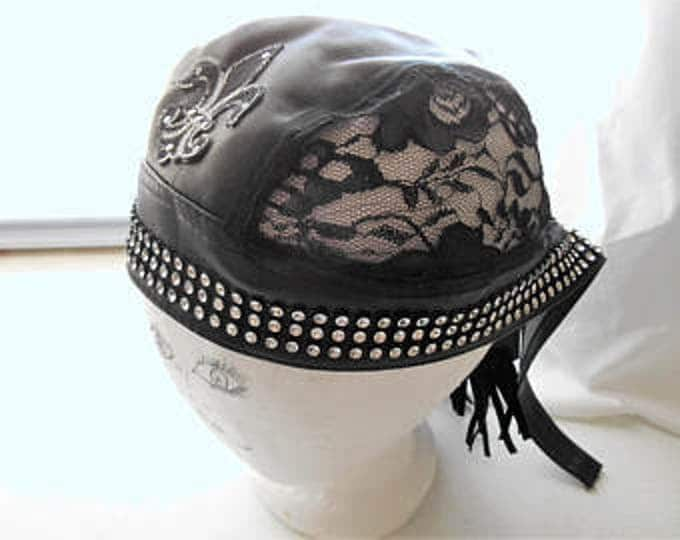 Doo Rag 100% cotton polyester lace MMBC001A