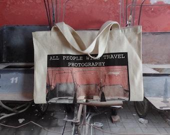 "Photography: Beijing, China  - 20"" x 30"" (508 x 762mm) Print/Tote Set - 001"