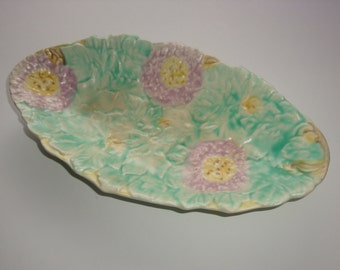 Avon Ware England Hand Painted Serving Dish