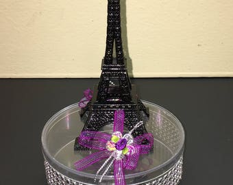 6 Paris Eiffel Tower Centerpieces