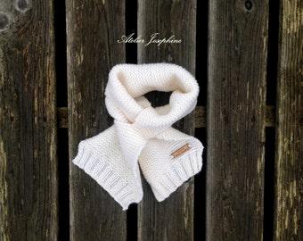 Gebreide BABYSJAAL handgemaakt peuter - knitted babyscarf handmade toddler